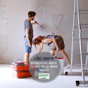 6 Creative Ways to Dress Up Bare Walls