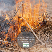 Protect Your Home From Wildfires in the Offseason
